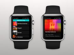 Bandsintown Apple Watch App