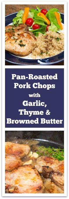 Smithfield All Natural Fresh Pork Chops #ad #allnatural #30minutemeal