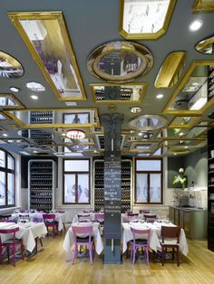 Bella Italia Weine, too cheeky but I've always liked the idea of a very ornate mirrored ceiling