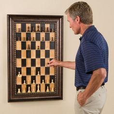 Wall chess. Awesome thing for by the front door to play an on going game with the house