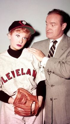 Lucy and Bob Hope.