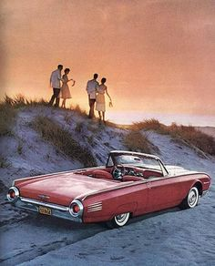 I am supposed to be driving this 1961 Ford T-Bird. Ford Thunderbird, Thunderbird House, 1960s Cars, Old Fords, Cabriolet, Car Advertising, Us Cars, Car Ford, Classic Cars