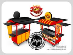 Desain Logo   Logo Kuliner    Desain Gerobak   Jasa Desain dan Produksi Gerobak   Branding: Desain Gerobak Mr Iga Bakar