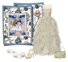 """""""Feeling like a princess"""" by whiteflower7 ❤ liked on Polyvore featuring House of Hackney, Oscar de la Renta, Caparros and Alexis Bittar"""