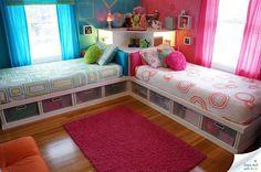 precioso dormitorio infantil, en dos colores. ¿niño?, ¿niña?, que mas da. ¡Niños!