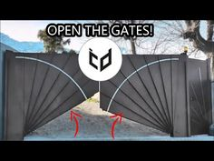 In this video, you will watch automatic gates and doors. I hope you like this compilation video of automatic folding or sliding gates and doors videos. Steel Gate Design, House Gate Design, Door Design, Automatic Gate Opener, Automatic Sliding Gate, House Front Gate, Front Gates, Gate Designs Modern, Creative Inventions