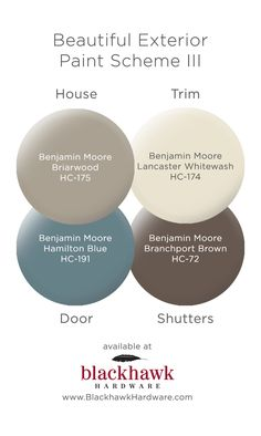19 trendy Ideas exterior paint colora for house gray stucco benjamin moore House Exterior Color Schemes, Exterior Paint Colors For House, Paint Colors For Home, Paint Colours, Brown Paint Colors, Gray Paint, Exterior Design, Exterior Paint Color Combinations, Best Exterior Paint
