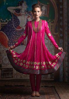 Pink Dress - Biba India