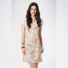 Quem aqui gosta ?   Vestido floral manga com renda  COMPRE AQUI!  http://imaginariodamulher.com.br/look/?go=2dTsU66  #comprinhas #modafeminina#modafashion  #tendencia #modaonline #moda #instamoda #lookfashion #blogdemoda #imaginariodamulher
