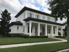 "Baldwin Park home. Something about it was just aesthetically pleasing to us.  However this may be an example of more of the ""box"" look that Kyle isn't a fan of"