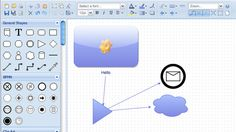 diagramly online diagram mind map and flow chart creator - Making A Mind Map Online