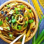 Sticky Garlic Noodles {An's Famous Garlic Noodles Copycat, 15 minutes, Gluten-free}