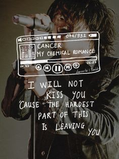 my chemical romance; gerard way; Gerard Way, Band Quotes, Lyric Quotes, I Love Music, Music Is Life, Pop Music, Emo Bands, Music Bands, Cancer My Chemical Romance