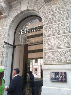 Versace, Fifth Avenue, NYC