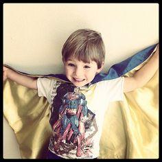 KazookieKids.com - D Xtreme Superman Identity Shirt, $26.00 (http://www.kazookiekids.com/d-xtreme-superman-identity-shirt/)