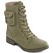 Arizona Connie Lace-Up Military Boots