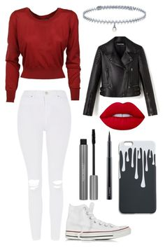 """""""Again, We Are Done with Titles"""" by maniacalgemini on Polyvore featuring Dolce&Gabbana, Topshop, Converse, BERRICLE, Lime Crime and MAC Cosmetics"""