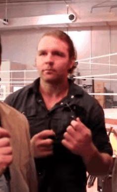 My gorgeous Lunatic ❤️ • Dean Ambrose gifs