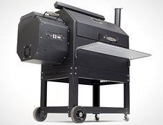 """Yoder Smokers YS640 Pellet Cooker. Am I the only one who thinks that it looks like the AT-ATs from """"The Empire Strikes Back""""?"""
