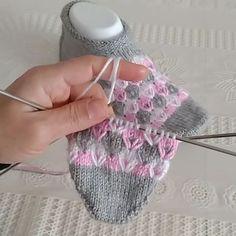 % Knitting and Crochet % KnitCraft Gilet Crochet, Crochet Stitches, Easy Knitting Patterns, Knitting Designs, Knitting Videos, Knitting Yarn, Knit Slippers Pattern, Knitted Slippers, Crafts