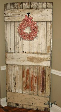 awesome old door from my parents house