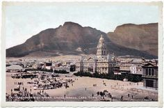 A collection of old postcards of Cape Town, South Africa South Afrika, Namibia, Most Beautiful Cities, East Africa, Africa Travel, Countries Of The World, Cape Town, Vintage Postcards, Old Photos