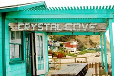 Crystal Cove, love this beach,  grew up here,  B