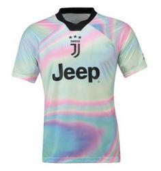 4bb82daaa3 2018-19 Cheap Jersey Juventus EA Replica Soccer Shirt  DFC193