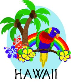 7 best hawaiian clip art images on pinterest luau party free rh pinterest com hawaii clip art free hawaii clip art images