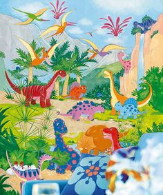 Take a look at this Dino World Art on zulily today!