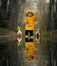 Animated gif shared by Candice. Find images and videos about cute, boy and gif on We Heart It - the app to get lost in what you love. Photo Zen, Rain Gif, Baby Animals, Cute Animals, Foto Gif, I Love Rain, Rain Days, Singing In The Rain, Animation