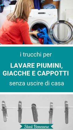 #lavare #ecofaidate #casa #startbenessere Desperate Housewives, Green Cleaning, Natural Cleaning Products, Organization Hacks, Problem Solving, Clean House, Housekeeping, Good To Know, Washing Machine