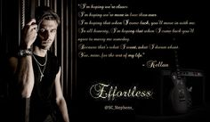 Kellan 💗 Kiera forever .... A Thousand Kisses Deep, Kellan Kyle, Good Books, Books To Read, New Facebook Page, Book Quotes, Book Sayings, Book Boyfriends, Book Characters