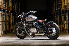 Triumph Bonneville Bobber 1200 by BikeBrothers Speedshop