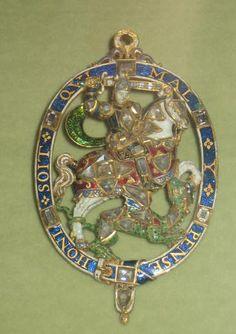Order of the Garter - Lesser George (Rosenborg Slot, Copenhagen)