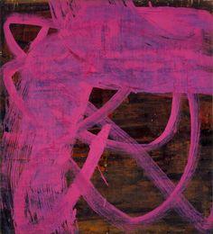 "Bill Jensen, Images of a Floating World #27, 2001-03, Oil on linen, 23"" x 20"""