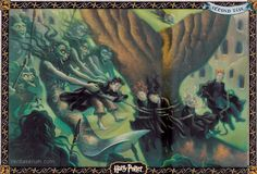 Mary GrandPré HP Artwork Harry Potter and the Goblet of Fire, Second Task
