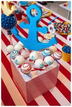 Little Sailor Boy Cake Pops by Cupcake Columbia. Photo by Claudine van der Walt
