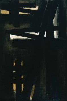 'Painting, 23 May 1953', Pierre Soulages   Tate