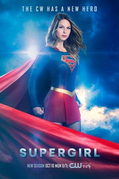 supergirl season 2 poster Supergirl Season 2 Poster: The CW Has a New Hero