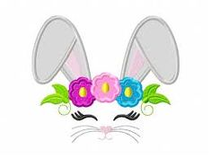 easter applique designs – Vyhľadávanie Google Bunny Face, Star Stitch, Applique Embroidery Designs, Instagram Shop, Cute Designs, Easter Bunny, Really Cool Stuff, Etsy Seller, Rabbit