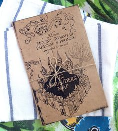 Marauder's Map Printable - Perfect for Menus, Birthday Cards, or Invitations, Harry Potter Style! on Etsy, $9.50