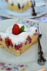 Hungarian Recipes, Cheesecake, Dessert Recipes, Barbie, Yummy Food, Cookies, Food Ideas, Biscuits, Delicious Food