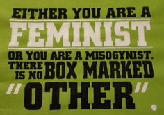 "The Feminist ""Easy-Button"" For Debates: Label Anyone Who Disagrees With You A MISOGYNIST"