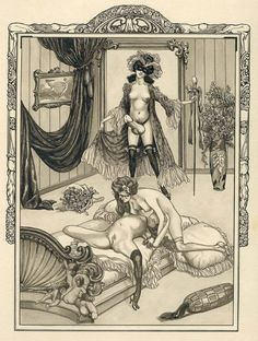 Erotic ex libris alphonse inoue - 1 4
