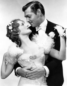 """Actor Clark Gable and actress Jeanette MacDonald, in the film """"San Francisco"""" released in 1936 Golden Age Of Hollywood, Vintage Hollywood, Hollywood Stars, Classic Hollywood, Hollywood Couples, Hollywood Icons, Hollywood Glamour, Hollywood Actresses, Clark Gable"""