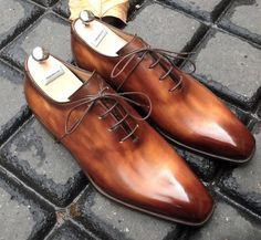 Caulaincourt shoes - Riva - roasty chesnut