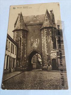Ninove De Koepoort in 1923 (postafstempeling)