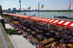 Rhine promenade Dusseldorf by Bernard Mowbray, via Flickr Dream City, Curiosity, Night Club, No Time For Me, Switzerland, Wander, Netherlands, Travel Guide, Places Ive Been