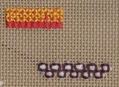 Stitch of the week: Rice Stitch